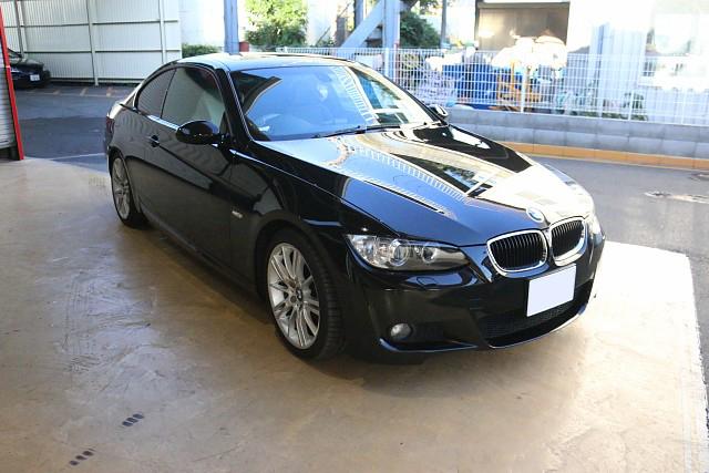BMW 320i(E92)側面事故修理 組み付け~完了写真